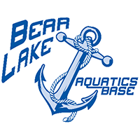Bear Lake Aquatics Base logo with anchor